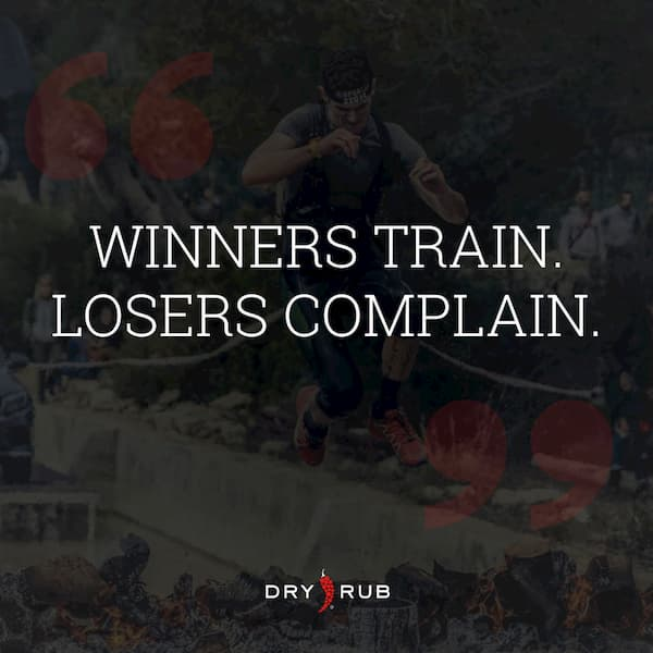 fitness quote - winners train