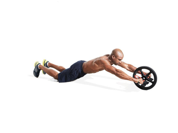 core exercise for athletes - ab wheel rollout