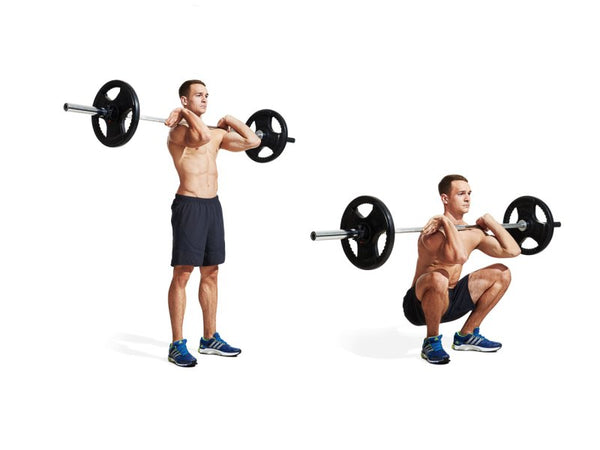 core exercise for athletes - front squat