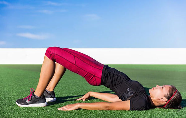 best core exercise for athletes - glute bridge