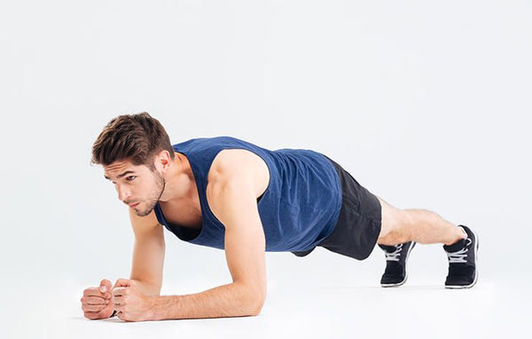 core exercise for athletes - planks