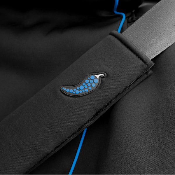 seat belt cover - Dry Rub Spice Wrap - Blue Smoke