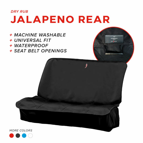Jalapeno Rear Seat Cover