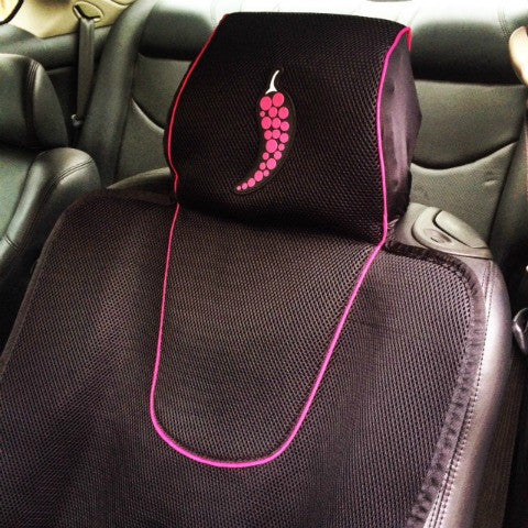 Dry Rub (Spicy): Athletic Car Seat Covers With Massagers