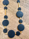 Round Wood Bead Necklace - Gracie James Clothing