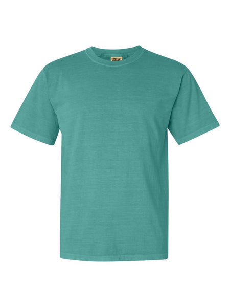 SEAFOAM - Garment Dyed Heavyweight Ring spun Short Sleeve Shirt - Vivid Sportswear