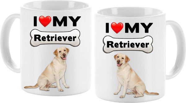 I love my Retriever Mug - Vivid Sportswear