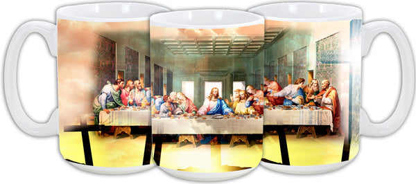 Last Supper Mug 15oz - Vivid Sportswear