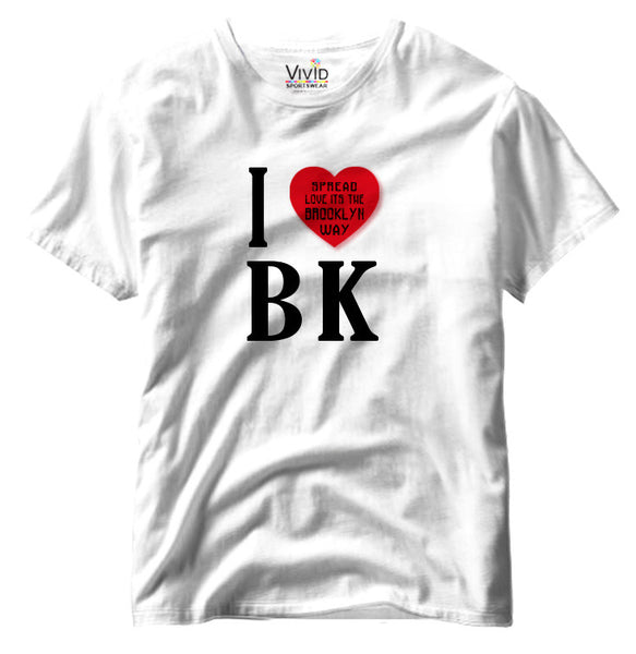 Adults Brooklyn Spread Love T-Shirt - Vivid Sportswear