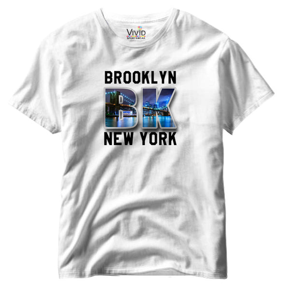 Adults Brooklyn, NY T-Shirt - Vivid Sportswear