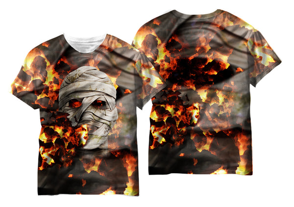 Fire Mummy Sublimation T-Shirt - Vivid Sportswear