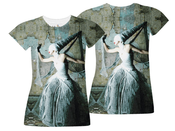 Dungeon Woman Sublimation T-Shirt - Vivid Sportswear