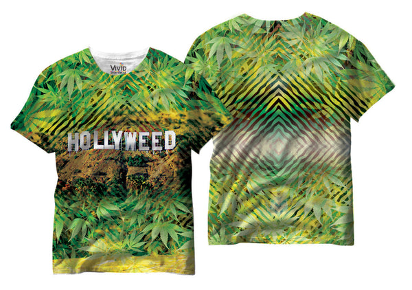 Adults Hollyweed Sublimation T-Shirt - Vivid Sportswear