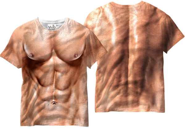Adults Muscle Man Sublimation T-Shirt - Vivid Sportswear