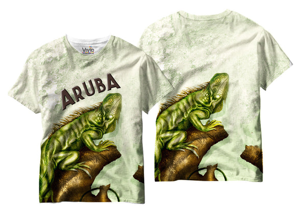 Adults Iguana Sublimation T-Shirt - Vivid Sportswear