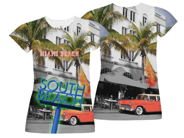 South Beach Sublimation T-Shirt - Vivid Sportswear