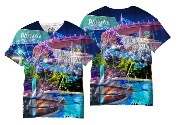 Adults Atlanta Sublimation T-Shirt - Vivid Sportswear