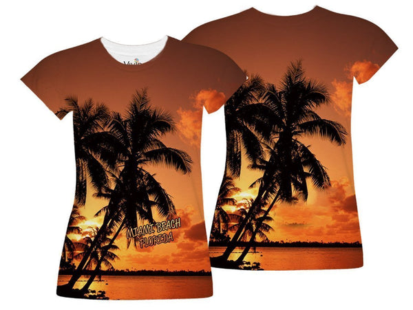 Sunset on the Beach Sublimation - Vivid Sportswear