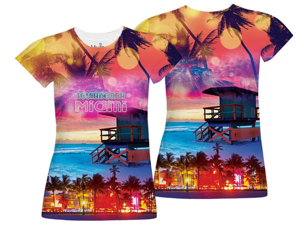 South Beach Sublimation Design - Vivid Sportswear
