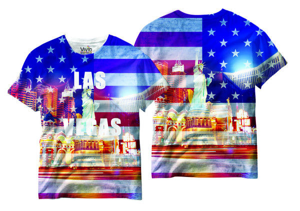 Adults Las Vegas Sublimation T-Shirt - Vivid Sportswear