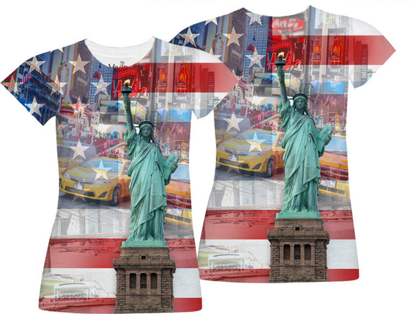 NEW YORK Sublimation T-Shirt - Vivid Sportswear