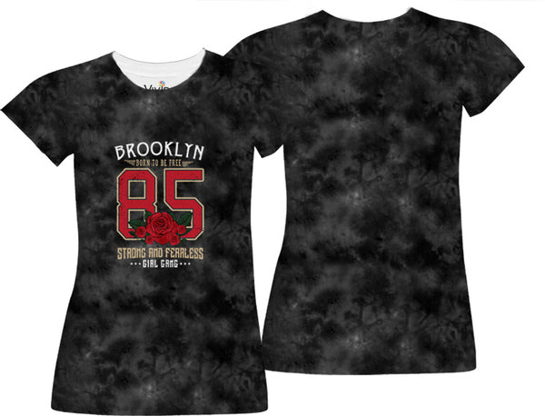Brooklyn Roses Sublimation T-Shirt - Vivid Sportswear