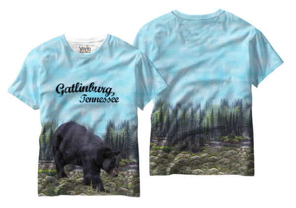Adults Gatlinburg Tennessee Sublimation T-Shirt - Vivid Sportswear