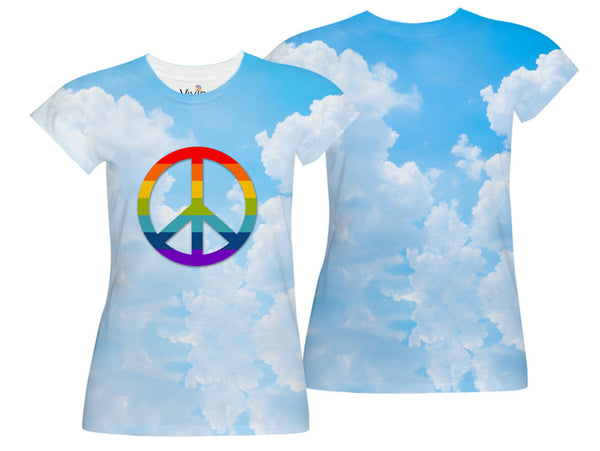 Gay Pride Sublimation T-Shirt - Vivid Sportswear