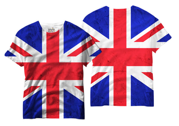 Adults Union Jack Sublimation T-Shirt - Vivid Sportswear