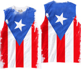Adults Puerto Rican Flag Sublimation T-Shirt - Vivid Sportswear