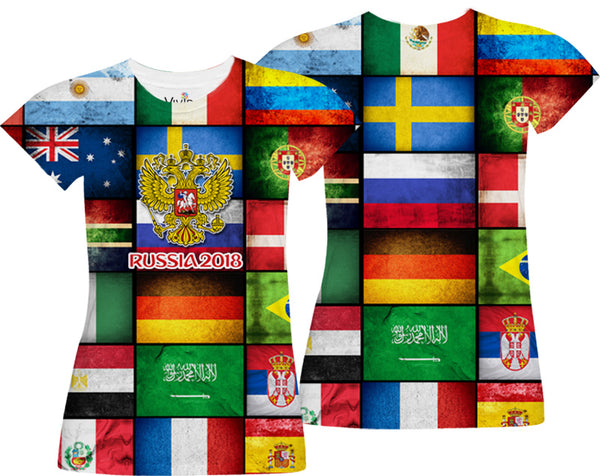 World Cup Finals Sublimation T-Shirt