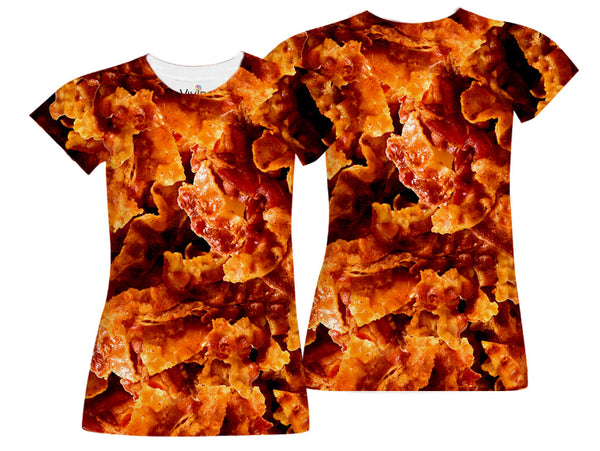 Bacon Lover Sublimated T-Shirt - Vivid Sportswear