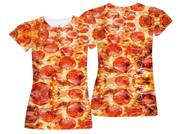 Pepperoni Pizza Lover T-Shirt - Vivid Sportswear