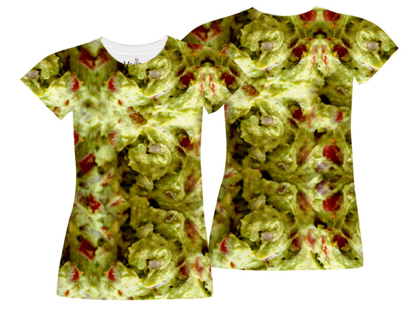 Fresh Guacamole Sublimation T-Shirt - Vivid Sportswear