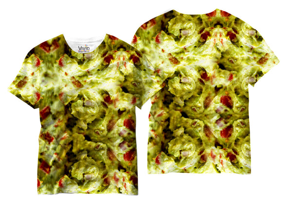 Adults Fresh Guacamole Sublimation T-Shirt - Vivid Sportswear