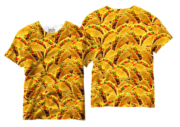 Adults Taco Lover Sublimation T-Shirt - Vivid Sportswear