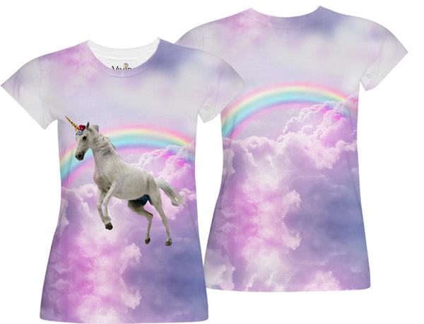 Unicorn in the Sky Sublimation T-Shirt