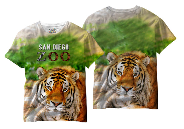 Tiger at San Diego Zoo Sublimation T-Shirt