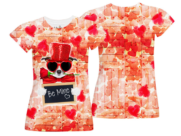 Be Mine Sublimation T-Shirt - Vivid Sportswear