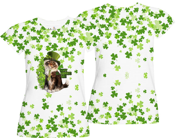 Raining Shamrocks Shirt - Vivid Sportswear
