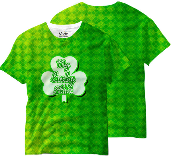 Adults Lucky Tee Sublimation T-Shirt - Vivid Sportswear