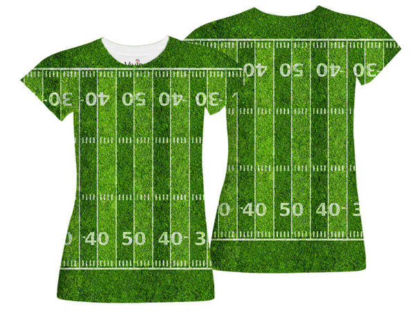 Football Field T-Shirt - Vivid Sportswear