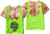 Adults Gym Muscle Tank Sublimation T-Shirt - Vivid Sportswear