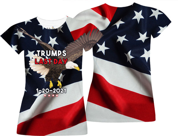 Trumps Last Day Sublimation T-Shirt