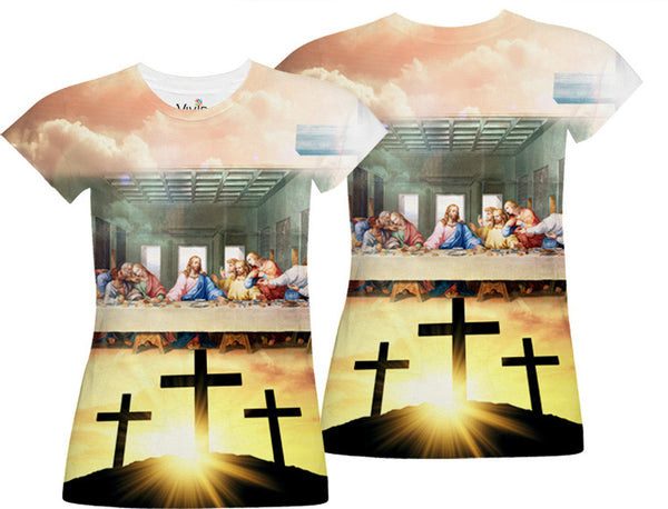 The Last Supper Sublimation T-Shirt