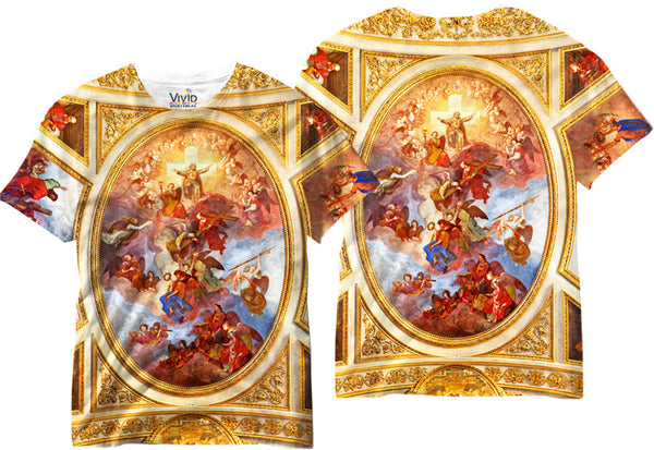 Adults Fresco Celing Sublimation T-Shirt - Vivid Sportswear