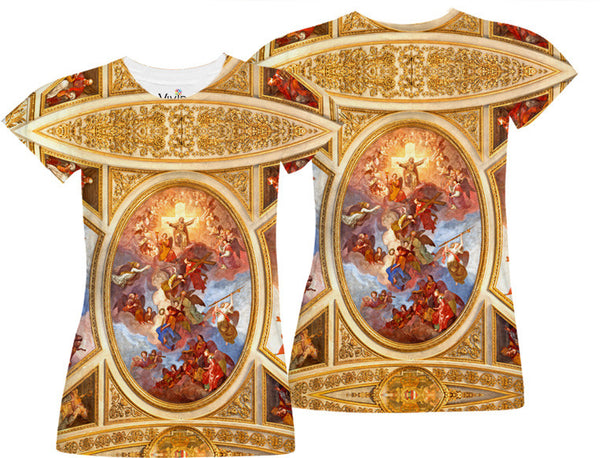 Fresco Ceiling Sublimation T-Shirt - Vivid Sportswear