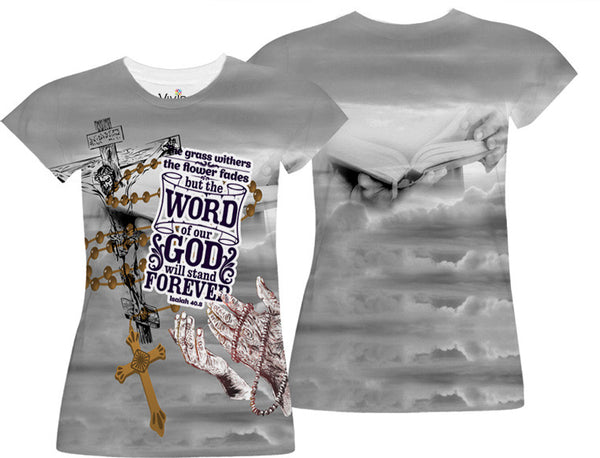 Adults Word Of God Sublimation T-Shirt - Vivid Sportswear