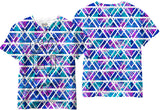Adults Tropical Pattern Sublimation T-Shirt - Vivid Sportswear