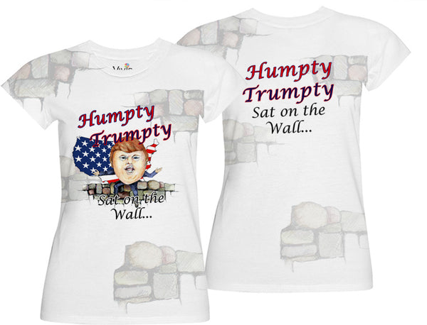 Humpty Trumpty Sublimation T-Shirt and Tank Top - Vivid Sportswear